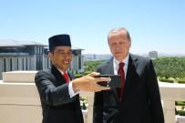 SEMPATIK - Endonezya Cumhurbaşkanı Widodo, Cumhurbaşkanı Erdoğan İle Sosyal Medyadan Canlı Yayın Yaptı