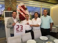 KIRAÇ - Erzurum'daki Elazığlılar Elazığspor'u Ağırladı