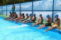YEŞILPıNAR - Eyüplü Çocuklar Havuzları Doldurdu