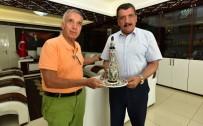 SABAH GAZETESI - Gazeteci Donat, Başkan Gürkan'ı Ziyaret Etti