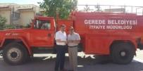 Gerede Belediyesi'nden Karacasu'ya Hibe İtfaiye Aracı
