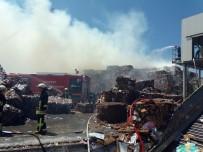İTFAİYE ERİ - Geri Dönüşüm Fabrikasında Yangın