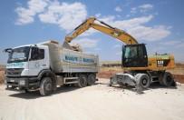GÖKTEPE - Haliliye Belediyesi Kırsalda Yol Çalışmalarını Sürdürüyor