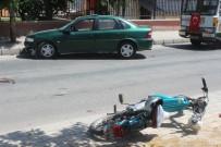 PİRİ REİS - Karaman'da Trafik Kazası Açıklaması 1 Yaralı