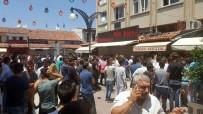 İMİTASYON - Kuşadası'nda Sahte Marka Operasyonunda Olaylar Çıktı