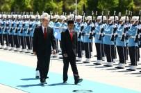 ENDONEZYA - Mevkidaşını Resmi Törenle Karşıladı