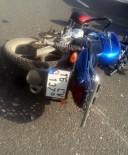 SARAYCıK - Motosiklet İle Otomobil Çarpıştı Açıklaması 1 Yaralı