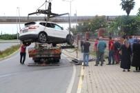 Rize'de Trafik Kazası Açıklaması 4 Yaralı