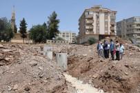 SEMT PAZARI - Şair Nabi'deki Semt Pazarı İnşaatı Sürüyor