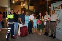 ŞEHİT ÜSTEĞMEN - Şehidin Emanetleri Muğla'da Jandarma Tarafından Çiçeklerle Karşılandı