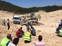 Soma'daki Yerüstü Madeninde İş Kazası Açıklaması 1 Ölü