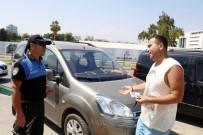 DENIZ YıLMAZ - Tatilcilere Polisten 'Şaka Ceza Makbuzu' Şoku
