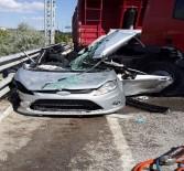 ALI ÇOLAK - Tır ile otomobil çarpıştı: 2 ölü, 2 yaralı