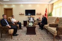 Vali Ali Hamza Pehlivan'a Ziyaretler Devam Ediyor