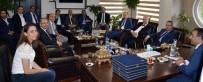 İLETİŞİM FAKÜLTESİ - Yargıdan Erzurum Barosuna Ziyaret