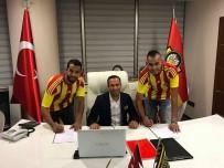 MALATYASPOR - Yeni Malatyaspor'da Boutaibi Ve Chebake, Kampa Katıldı