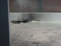 BIRMINGHAM - Yere atılan şarj cihazından çıkan duman korkuttu