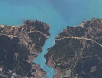 İSTANBUL BOĞAZI - Yerli uydu RASAT İstanbul'u görüntüledi