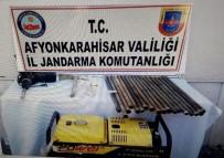 Afyonkarahisar'da Define Avcılarına Operasyon Açıklaması 4 Gözaltı