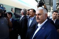 SEL FELAKETİ - Başbakan Yıldırım, Polatlı-Ankara Arası Yüksek Hızlı Trenle Seyahat Etti