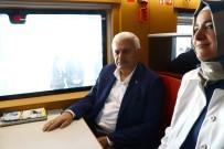 SEL FELAKETİ - Başbakan Yıldırım Yüksek Hızlı Trenle Seyahat Etti