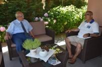 RAMAZAN BAYRAMı - Başkan Albayrak'tan Başkan Baysan'a Geçmiş Olsun Ziyareti