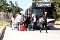 ÖNCÜPINAR - Bayram İçin Ülkelerine Giden 68 Bin Suriyeli'den 35 Bini Türkiye'ye Döndü