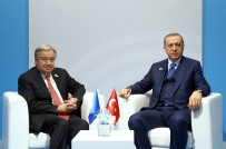 ANTONIO GUTERRES - Cumhurbaşkanı Erdoğan Guterres Ve Abe İle Görüştü
