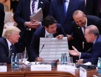 ABD BAŞKANI - Cumhurbaşknı Erdoğan, Trump ile görüştü