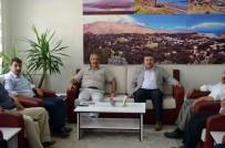 DIYANET SEN - Diyanet-Sen Genel Başkan Yardımcısı Yakışır'dan Başkan Gürsoy'a Ziyaret