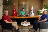 ALI RıZA BEY - Erzurum Milletvekili Ilıcalı'dan Ziyaret