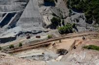 FEVZIPAŞA - Gölecik Barajı'nda Çalışmalar Sürüyor
