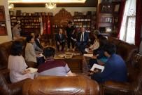 NEVŞEHİR BELEDİYESİ - Güney Kore Namwon Belediye Meclis Üyeleri Nevşehir Belediyesini Ziyaret Etti