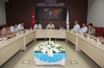 MUSTAFA KUTLU - İl Sağlık Müdürlüğünde Koordinasyon Toplantısı Yapıldı