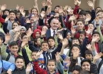 ÇEVRE TEMİZLİĞİ - Pamukkale Belediyesi'nden Eğitime Destek Sürüyor