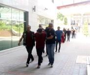 POLİS HELİKOPTERİ - Şafak Operasyonunda Gözaltına Alınan 16 Kişi Adliyeye Sevk Edildi