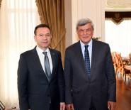 HÜSEYIN AKSOY - Vali Aksoy, Başkan Karaosmanoğlu'nu Makamında Ağırladı