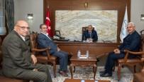ŞEHİT AİLELERİ DERNEĞİ - Vali Zorluoğlu'na Ziyaretler Devam Ediyor