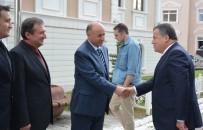 İSMAİL RÜŞTÜ CİRİT - Yargıtay Birinci Başkanı İsmail Rüştü Cirit'ten Erzurum Valiliğine Ziyaret