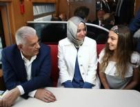 ULAŞTıRMA BAKANLıĞı - Binali Yıldırım Ankara'ya hızlı trenle döndü