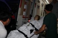 HAKAN GÜNGÖR - 17 Yaşınki Genç Kız Bici Bici Yediği Sırada Av Tüfeğiyle Sırtından Vurularak Ağır Yaralandı