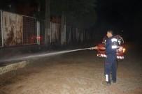 FUTBOL SAHASI - Aydın Hüseyin Aksu Spor Tesislerinde Yangın