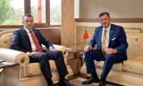 VEZIRHAN - Başkan Duymuş'tan Vali Büyükakın'a Ziyaret