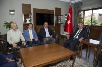 FATIH SEVINÇ - Belediyespor Heyetinden Vali Zorluoğlu'na Ziyaret