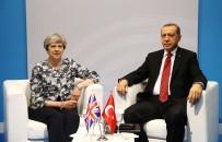 THERESA MAY - Erdoğan Theresa May İle Görüştü