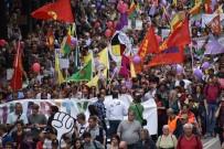 HAMBURG - Hamburg'da PKK/PYD Sempatizanlarından Protesto