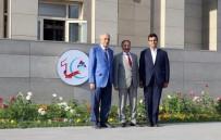 HAYIRSEVER İŞ ADAMI - İş Adamı Abdolbari Goozal'den Rektör Karabulut'a Ziyaret