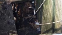 EMNIYET KEMERI - Kuyuda Mahsur Kalan Kişiyi İtfaiye Çıkardı