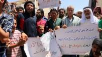 ÖZGÜR SURİYE - Kuzey Suriyeliler, Topraklarının PKK Ve PYD'den Temizlenmesi İçin Gösteri Yaptı
