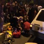 TAŞKıRAN - Otomobil Yayaya Çarptı